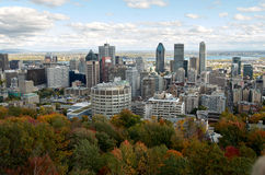Downtime Montreal in the Fall. Royalty Free Stock Photography