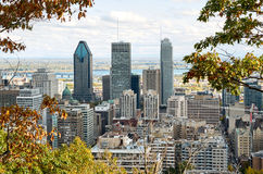 Downtime Montreal in the Fall. Stock Photos