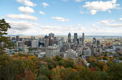 Downtime Montreal in the Fall. Royalty Free Stock Images