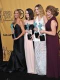 Downton Abbey Stars royalty-vrije stock foto's