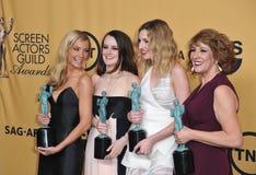 Downton Abbey Stars stock foto's