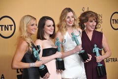 Downton Abbey Stars Stock Photo