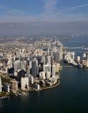 Downtonw Miami la Florida Imagenes de archivo