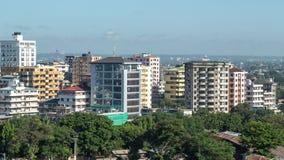 Downtowm Dar Es Salaam royalty-vrije stock afbeeldingen