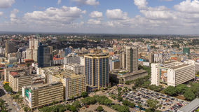 Downtowm Nairobi Royalty Free Stock Photos