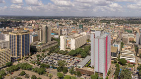 Downtowm Nairobi Stock Photo