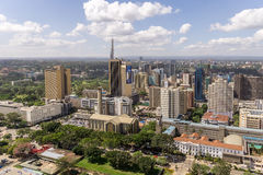Downtowm Nairobi Stock Images