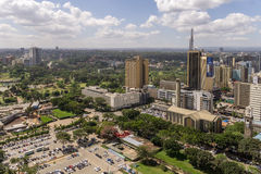 Downtowm Nairobi Stock Photography