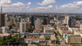 Downtowm Nairobi Royalty Free Stock Photo