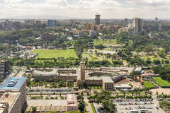 Downtowm Nairobi Royalty Free Stock Image