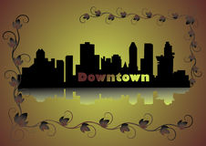 Downtown Stock Image