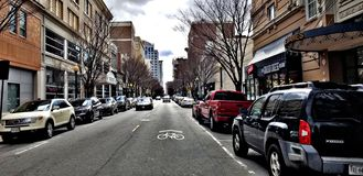 downtown stock fotografie