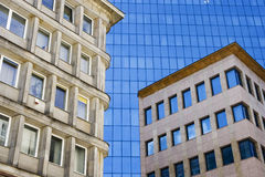 Downtown. An example of architecture found in Warsaw downtown, Poland Royalty Free Stock Photo