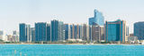 Downtown Abu Dhabi Royalty Free Stock Photo