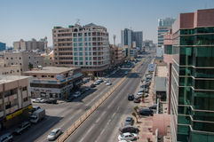 Downtown Al Khobar, Pepsi Road, Saudi Arabia Royalty Free Stock Images