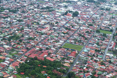 Downtown Alajuela, Costa Rcia Royalty Free Stock Images
