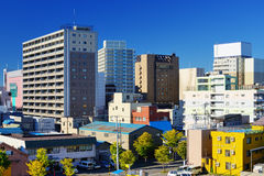Downtown Aomori, Japan Stock Photo