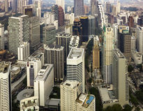 Downtown area of Kuala Lumpur Stock Photography
