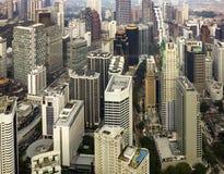 Downtown area of Kuala Lumpur Stock Photography