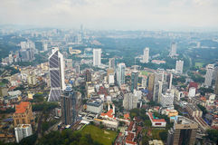 Downtown area of Kuala Lumpur Stock Images