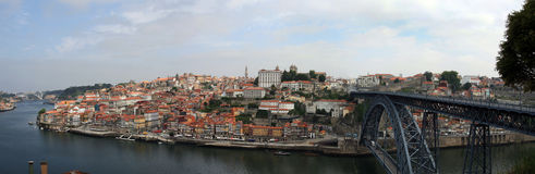 Downtown area of Porto Royalty Free Stock Photography