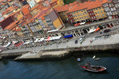 Downtown area of Porto Stock Photo