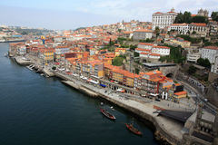 Downtown area of Porto Stock Image
