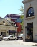 Downtown Asheville, North Carolina Royalty Free Stock Photography
