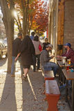 Downtown Asheville Street Character Royalty Free Stock Images