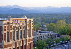 Downtown Asheville View Royalty Free Stock Image