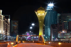 Downtown of Astana Stock Photo