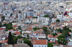 Downtown athens Royalty Free Stock Images