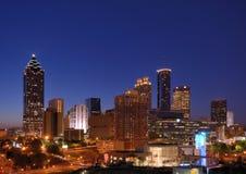 Downtown Atlanta royalty free stock photos