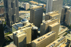 Downtown Atlanta Cityscape Royalty Free Stock Photos