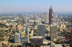 Downtown Atlanta Cityscape Stock Photography