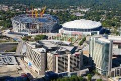 Downtown Atlanta, GA. Royalty Free Stock Photography