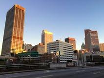 Downtown Atlanta, GA. Sunrise in downtown Atlanta, GA Royalty Free Stock Photo