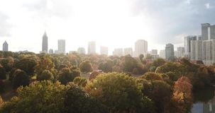 Downtown Atlanta Georgia Aerial view