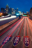 Downtown Atlanta, Georgia, USA skyline. Skyline of Downtown Atlanta, Georgia, USA Royalty Free Stock Photography
