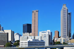 Downtown Atlanta, United States. ATLANTA, US - OCTOBER 21: Skyline of Downtown Atlanta on October 21, 2011 in Atlanta, US. Atlanta has the nation's third highest stock images