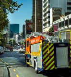 Downtown Auckland City Stock Image