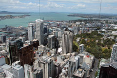 Downtown, Auckland, New Zealand. Stock Image