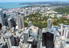 Downtown, Auckland, New Zealand. Royalty Free Stock Images