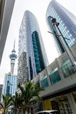 Downtown Auckland - Queens Street royalty free stock photography
