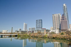Downtown Austin Texas Stock Image