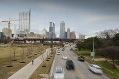 Downtown Austin Texas stock photography