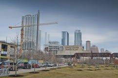 Downtown Austin Texas royalty free stock photos