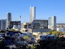 Downtown Austin Texas Royalty Free Stock Photography