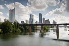Downtown Austin Texas skyline Royalty Free Stock Photos
