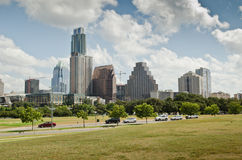 Downtown Austin Texas skyline Royalty Free Stock Photo